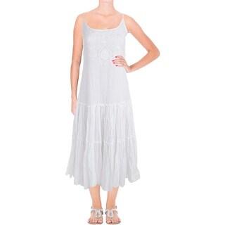 Lauren Ralph Lauren Womens Sundress Maxi Lace - 2