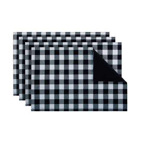 Buffalo Check Reversible Placemat - Set of Four