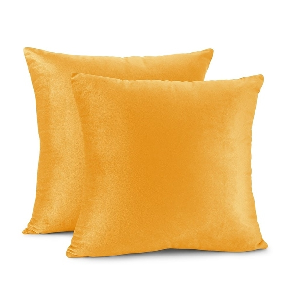 Porch & Den Cosner Solid Color Microfiber Velvet Throw Pillow Cover. Opens flyout.