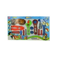 Daily Basic Kids Colorful Play and Learn Fun Tool Play Set with Assorted Construction Tools!