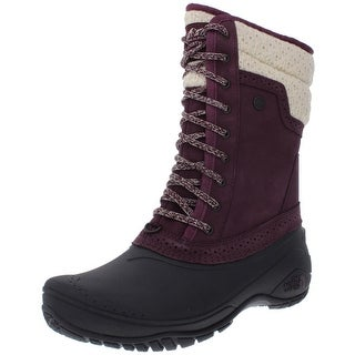 The North Face Womens Shellista II Winter Boots Suede Cold Weather