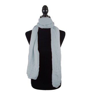 "Fashion Womens Solid Scarf Beach Wrap Pareo Hijab Cover Up - 35""x68"""
