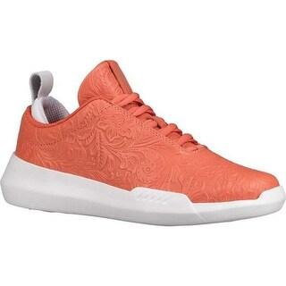 K-Swiss Women's Gen-K Icon Sneaker Coral/White