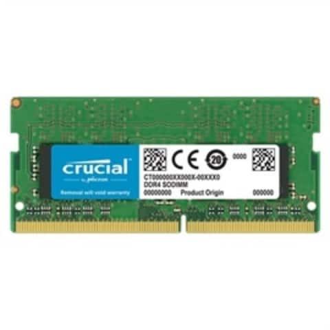 Crucial Memory CT8G4SFS8266 8GB DDR4 2666 MT/s CL19 Single Rankedx8 Unbuffered SODIMM Retail