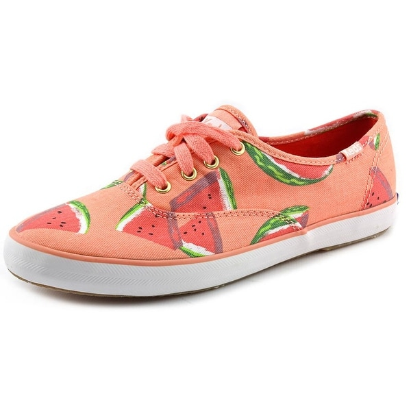 Keds Ch Fruit Women  Round Toe Canvas Pink Sneakers