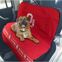 Pets First Collegiate Oklahoma Sooners Pet Car Seat Cover