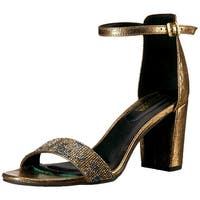 Kenneth Cole REACTION Women's Rise Like The Sun Embellished Block Heel Sandal...