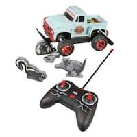 Redneck Roadkill R/C Game - Remote Control Truck and Foam Animals
