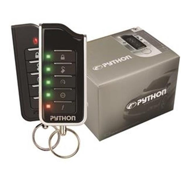 DIRECTED ELC 5204P Car Alarm, Python, 2000 Foot Remote