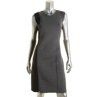 T Tahari Womens Sleeveless Knee-Length Wear to Work Dress - 2