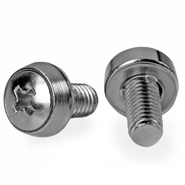 Startech M6 X 12Mm - Screws - 100 Pack - M6 Mounting Screws For Server Rack & Cabinet