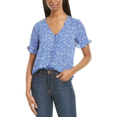 Cece By Cynthia Steffe Toile Vines Top
