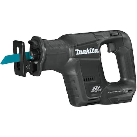 Makita XRJ07ZB Sub‑Compact Brushless Cordless Reciprocating Saw, 18 Volts