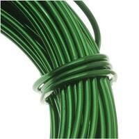 Aluminum Craft Wire Kelly Green 12 Gauge 39 Feet (11.8 Meters)