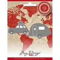 Car W/Camper - Find It Trading Amy Design Map Die