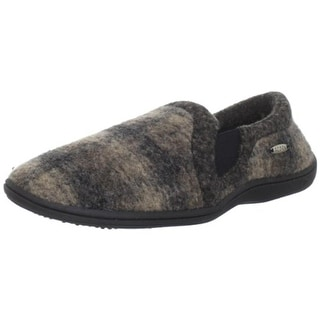 Acorn Mens Davin Loafer Slippers Casual Wool Blend