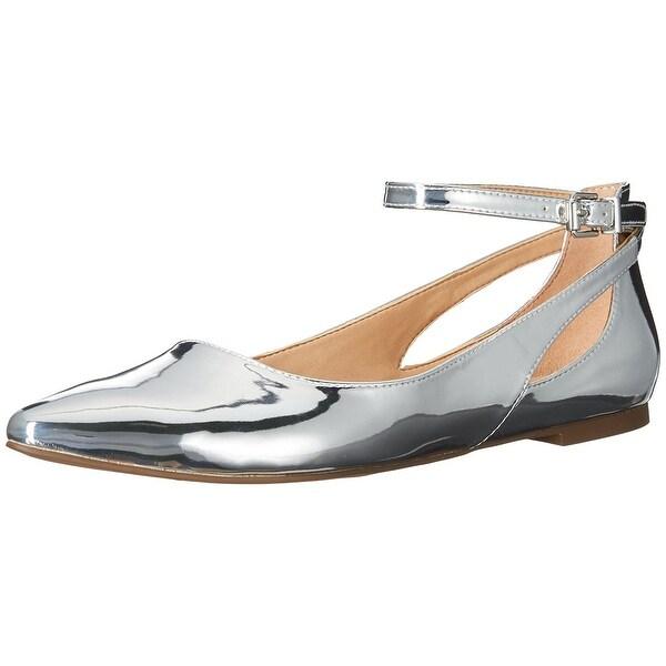 9ec2edcd9e3 Shop Franco Sarto Womens sylvia Pointed Toe Ankle Strap Espadrille ...