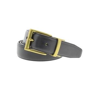Polo Ralph Lauren Mens Faux Leather Reversible Dress Belt