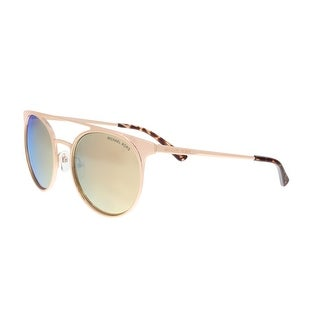 Michael Kors MK1030 10265A Shiny Rose Gold Round Sunglasses - 52-19-140