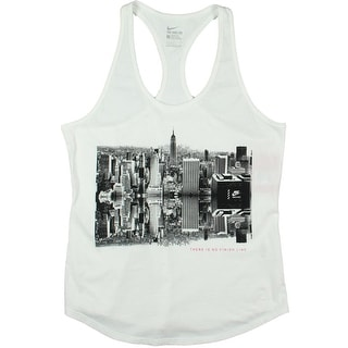 Nike Womens Athletic Cut Graphic Tank Top