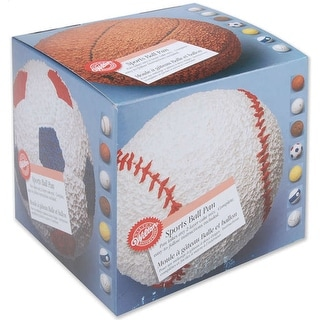 "3D Cake Pan-Sports Ball 6"""