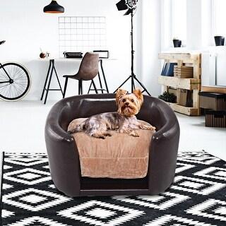 Gymax Pet Sofa Lounge Dog Puppy Sleeping Bed