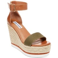 Steve Madden Womens Veda Open Toe Special Occasion Platform Sandals