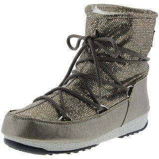 Tecnica Womens We Low Dance Metallic Faux Fur Lined Winter Boots - 7