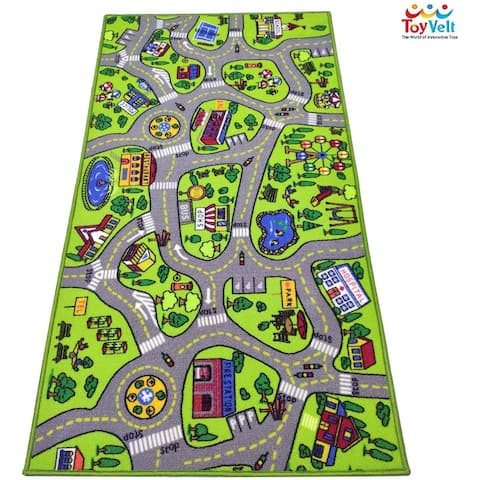 Toyvelt Carpet Playmat Car Rug