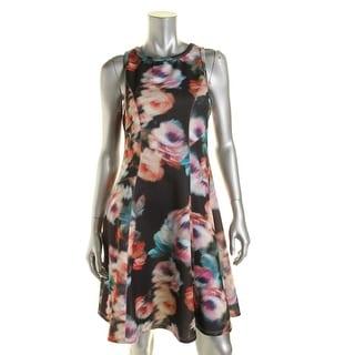 Karen Kane Womens Sleeveless Scuba Wear to Work Dress