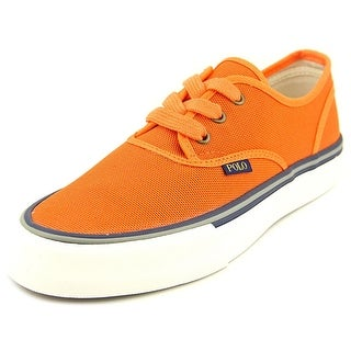 Polo Ralph Lauren Morray-Sk-Vlc Men Canvas Orange Fashion Sneakers