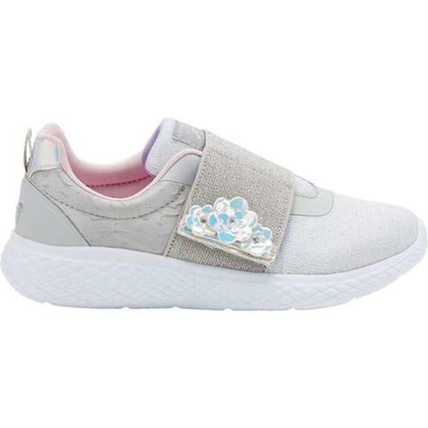 Avia Girls' Avi-Rio Sneaker Micro Chip/Pastel Lilac/Cherry Blossom/Silver