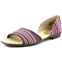 Easy Spirit Womens Kalindi Open Toe Slide Flats