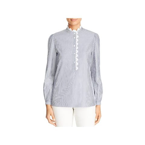 Tory Burch Womens Blouse S Cotton
