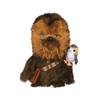 "Star Wars: The Last Jedi 12"" Super-Deformed Plush: Chewbacca w/ Porg - multi"