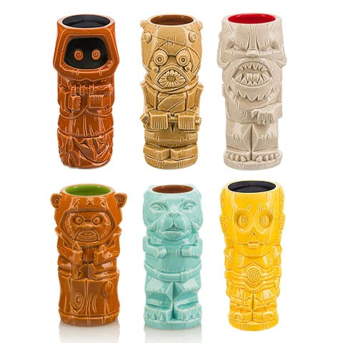 Star Wars Series 2 Ceramic Geeki Tiki Mugs