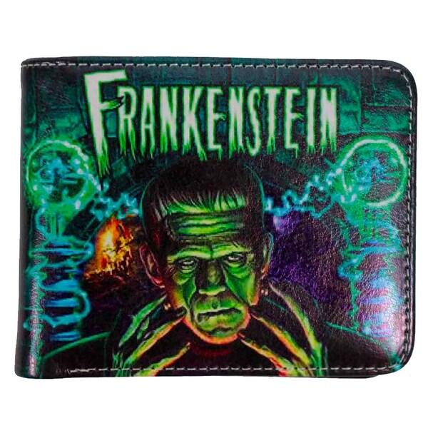 Universal Monsters Frankenstein Bi-Fold Wallet - Multi