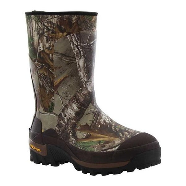 b4f35248662fc Western Chief Men's Realtree Xtra Neoprene Mid Rain Boot Brown