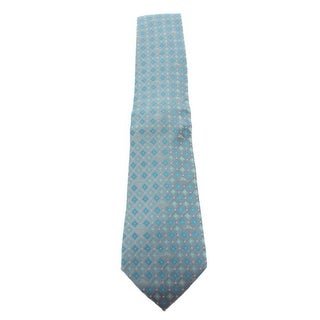 Tommy Bahama Mens Micro Marlin Floral Neck Tie Silk Pattern - o/s