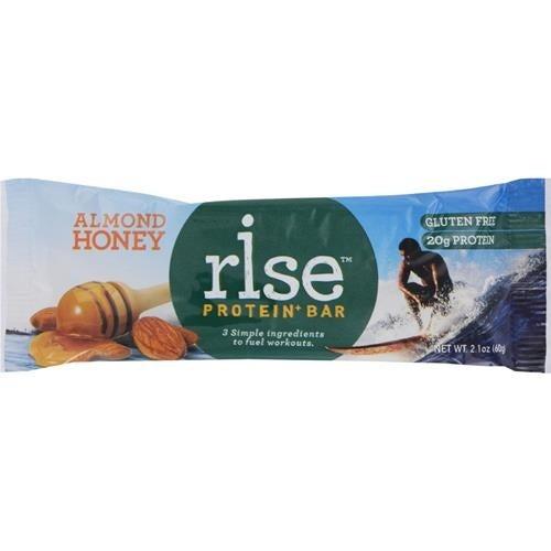 Rise Bar - Almond Honey Protein Bar ( 12 - 2.1 OZ)