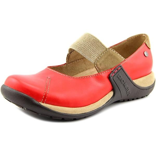 Romika Milla 73 Round Toe Leather Mary Janes