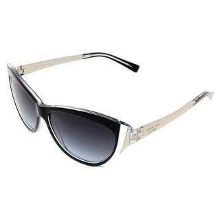 Michael Kors MK2005 CANEEL 303311 Black Crystal Cateye Sunglasses