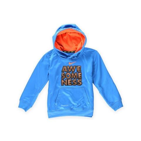 Nike Boys Awesomness Football Hoodie Sweatshirt - 4