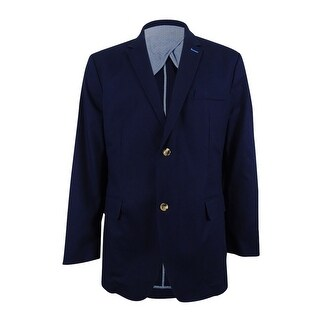 Club Room Men's Sport Coat (XXL, Navy Blue) - Navy Blue