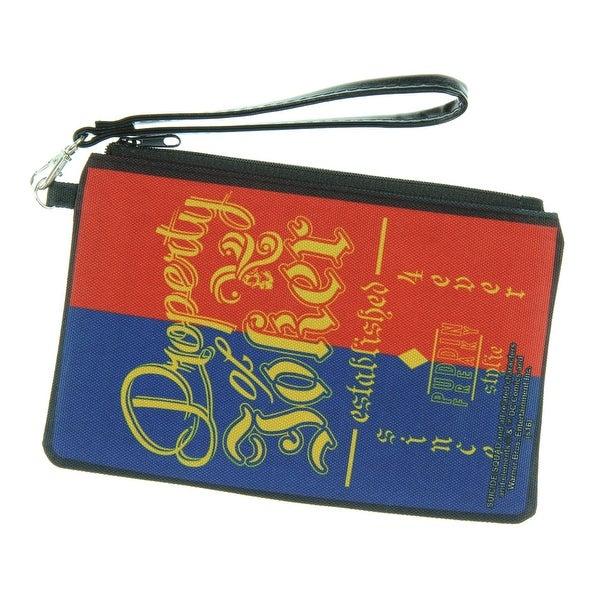 DC Comics Suicide Squad Canvas Zipper Wallet - - Property of Joker - L