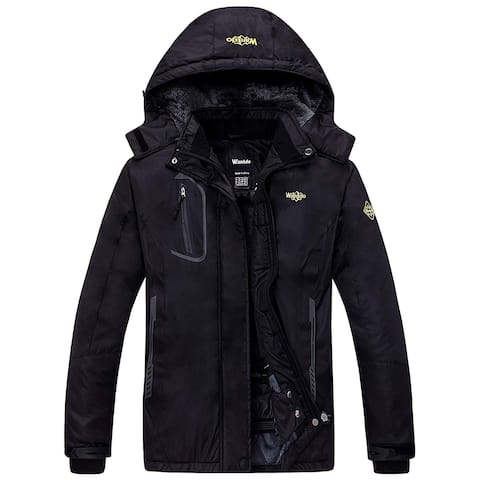Wantdo Women's Medium Full-Zip Hooded Pockets Jacket