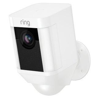 Ring 8SB1S7-WEN0 Spotlight Cam Battery Security Camera, White