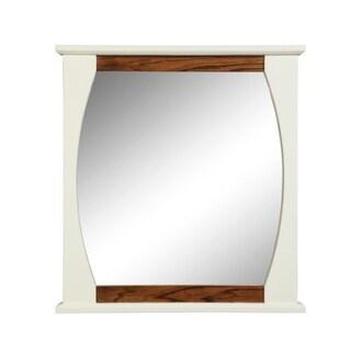 "DecoLav 9718 Natasha 30"" Rectangular Wall Mirror with Solid Wood Frame"
