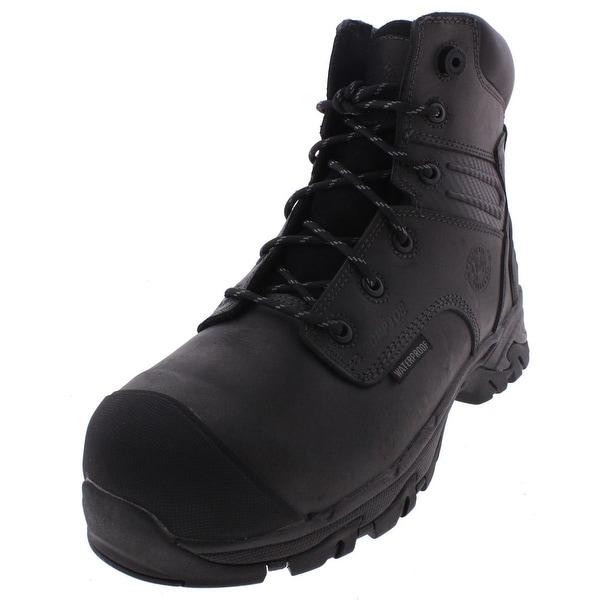 Justin Original Work Boots Mens Work Boots Composite Toe Waterproof