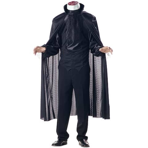 California Costumes Headless Horseman Adult Costume - Black